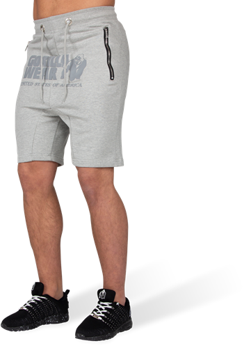 Alabama Drop Crotch Shorts - Gray-L