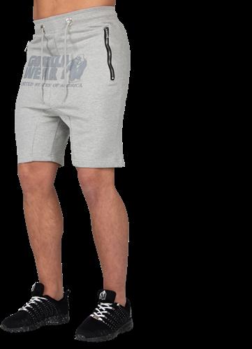 Alabama Drop Crotch Shorts - Gray-S