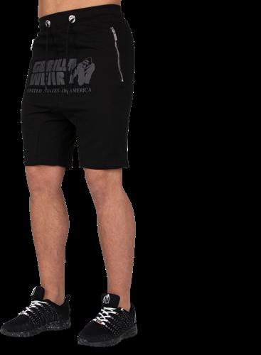 Alabama Drop Crotch Shorts - Black - 4XL