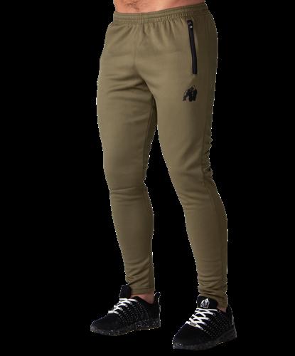 Ballinger Track Pants - Army Green/Black