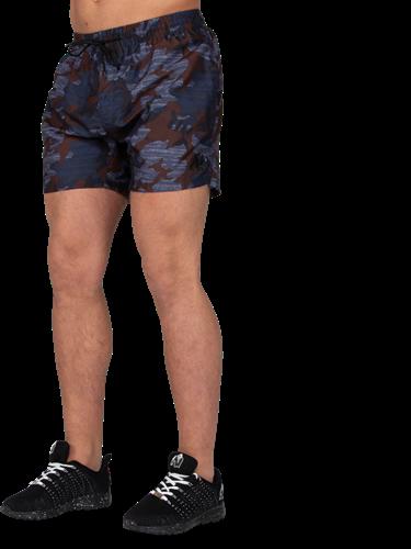 Bailey Shorts - Blue Camo