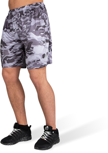 Kansas Shorts - Black/Gray Camo