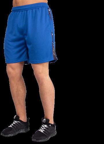 Reydon Mesh Shorts - Blue-4XL