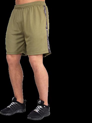 Reydon Mesh Shorts - Army Green-2XL