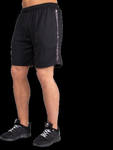 Reydon Mesh Shorts - Black-5XL