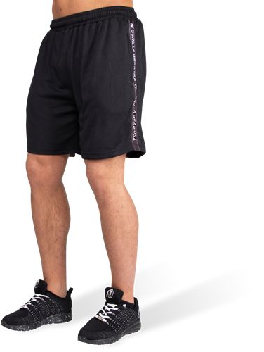Reydon Mesh Shorts - Black-S