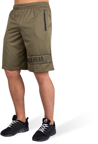 Branson Shorts - Army Green/Black - M