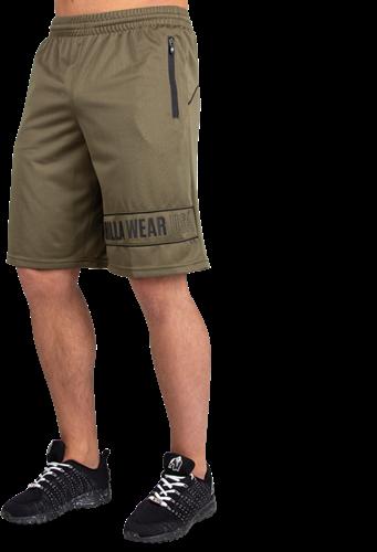 Branson Shorts - Army Green/Black