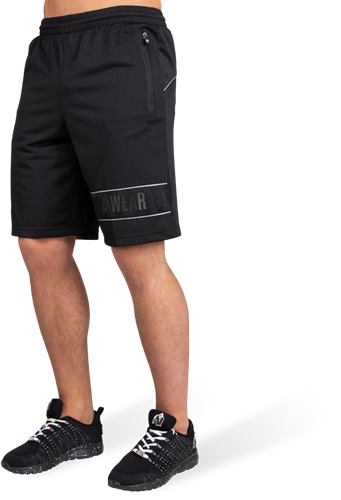 Branson Shorts - Black/Gray - 4XL