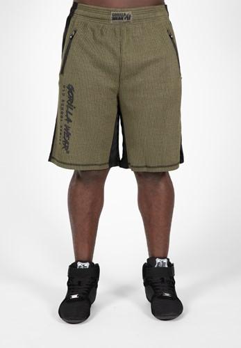Augustine Old School Shorts - Army Green-L/XL