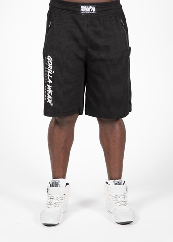 Augustine Old School Shorts - Black-L/XL