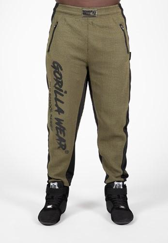 Augustine Old School Pants - Army Green-L/XL