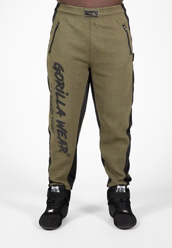 Augustine Old School Pants - Army Green-S/M