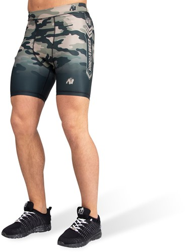 Franklin Shorts - Army Green Camo-S