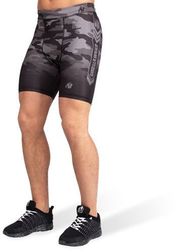 Franklin Shorts - Black/Gray Camo