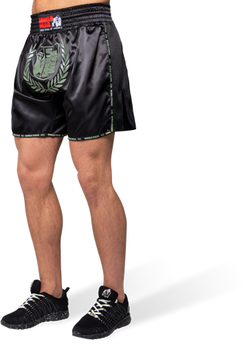 Murdo Muay Thai / Kickboxing Shorts -  Army Green - XS