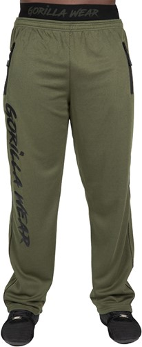 Mercury Mesh Pants - Army Green/Black - S/M