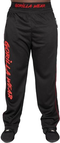 Mercury Mesh Pants - Black/Red - S/M