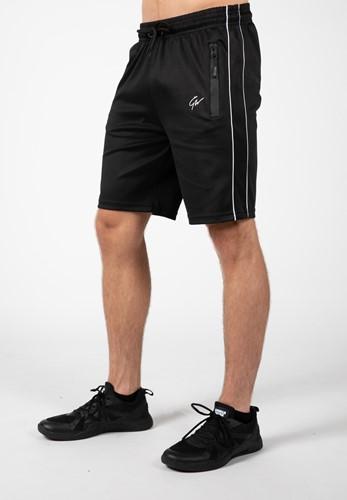 Wenden Track Shorts - Black/White - 2XL