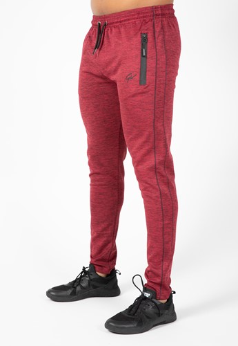 Wenden Track Pants - Burgundy Red - M