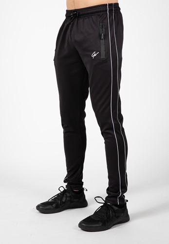 Wenden Track Pants - Black/White - 4XL
