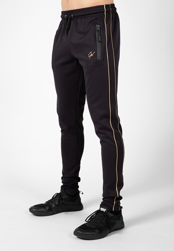 Wenden Track Pants - Black/Gold - 3XL