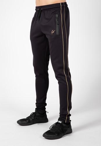 Wenden Track Pants - Black/Gold - 4XL