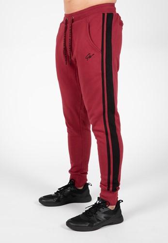 Banks Pants - Burgundy Red/Black - L