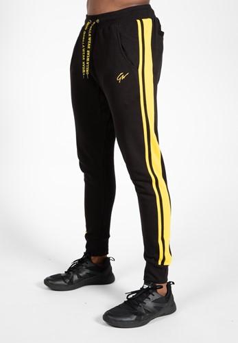 Banks Pants - Black/Yellow - S