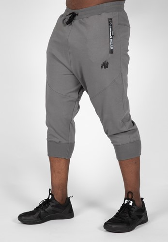 Knoxville 3/4 Sweatpants - Gray - 4XL