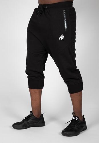 Knoxville 3/4 Sweatpants - Black - 4XL