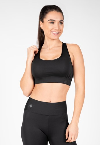 Meta Sports Bra - Black - L