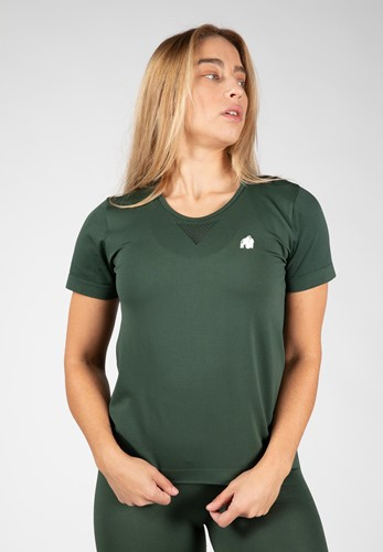 Neiro Seamless T-Shirt - Army Green - XS/S