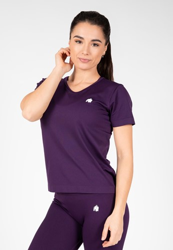 Neiro Seamless T-Shirt - Purple - S/M
