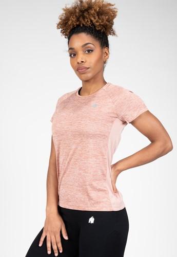 Monetta Performance T-Shirt - Salmon Pink - M