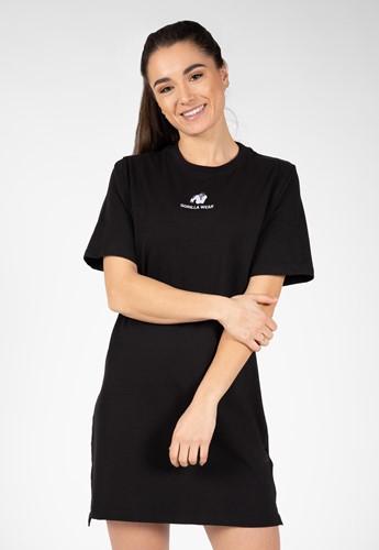 Neenah T-Shirt Dress - Black - L
