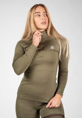 Melissa Long Sleeve - Army Green - XS