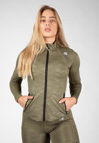 Savannah Jacket - Army Green Camo - S
