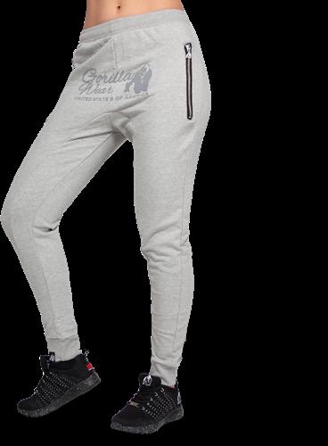Celina Drop Crotch Joggers - Gray - S