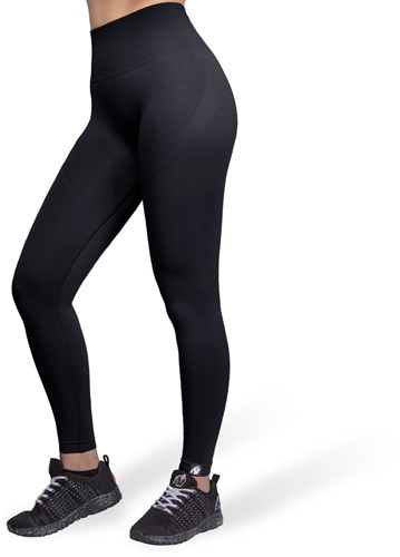 Yava Seamless Leggings - Black - M/L