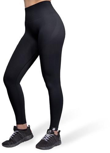 Yava Seamless Leggings - Black - XS/S