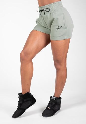 Pixley Sweatshorts - Light Green - XS