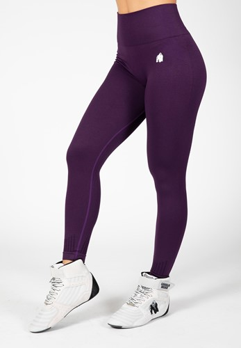 Neiro Seamless Leggings - Purple - M/L