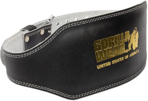 Full Leather Padded Belt - Black