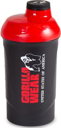 Gorilla Wear Wave Shaker 600ML - Black/Red