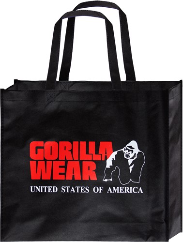 Non Woven Gorilla Wear Bag -  Black/Red - Small (10 pieces/poly pack)