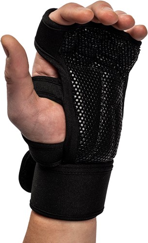 Yuma Weight Lifting Workout Gloves - Black - L