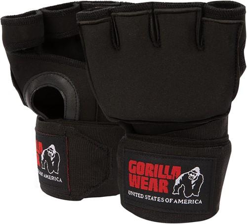 Gel Glove Wraps - Black/White - L/XL