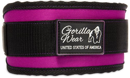 Women's Lifting Belt - Black/Purple - S