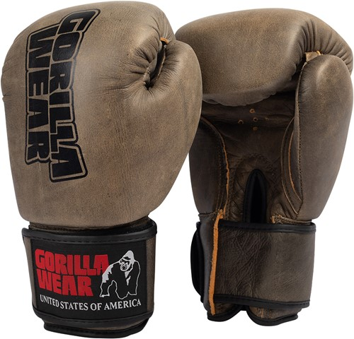 Yeso Boxing Gloves - Vintage Brown - 8oz
